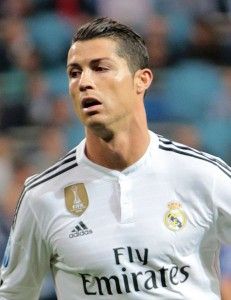 Ronaldo im Spiel