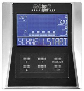 Christopeit CXM6 Bodrcomputer Display