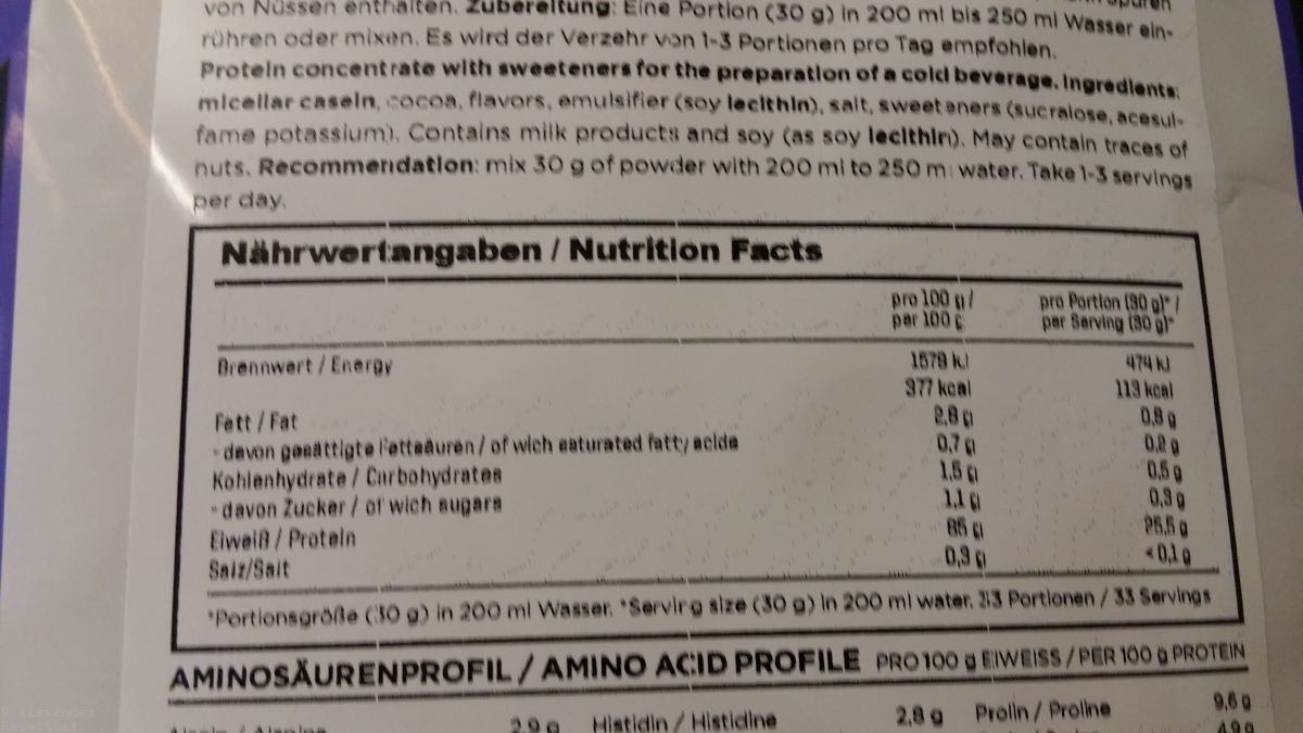 proteinbedarf pro tag