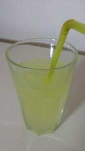 Glas mit Molke