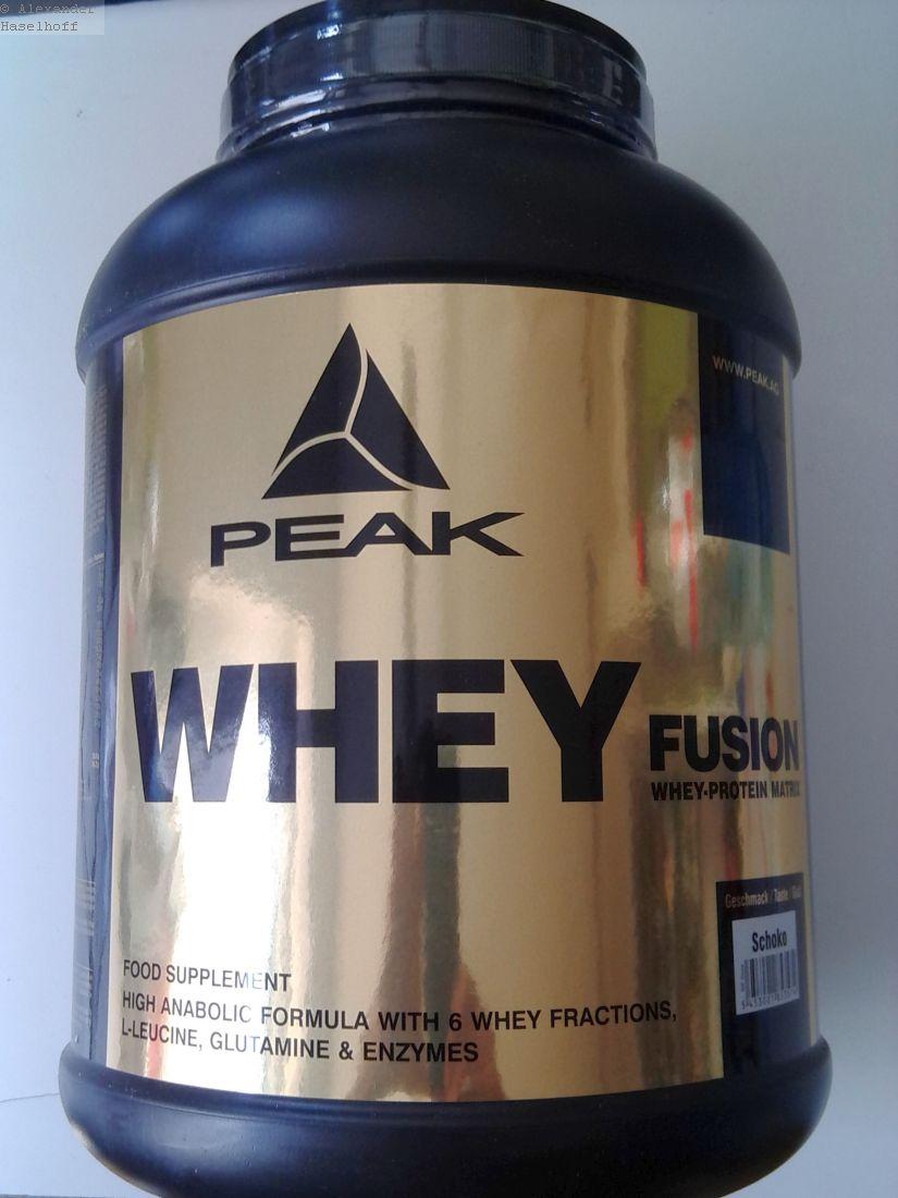 Peak Whey Fusion Test - Das Whey Protein im Check