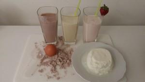Verschiedene Proteinquellen in der Diät
