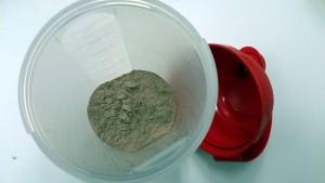 Protein Einnahme mit Shaker