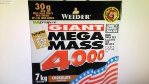 Weider Mega Mass 4000 im Test