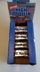 Riegel in Geschmack Schokolade