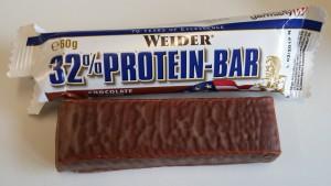 Weider 32% Proteinriegel im Test